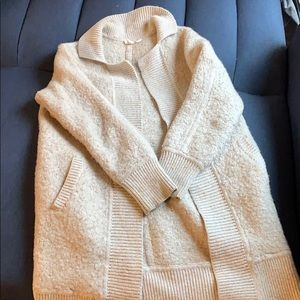 Gap cozy cream cardigan